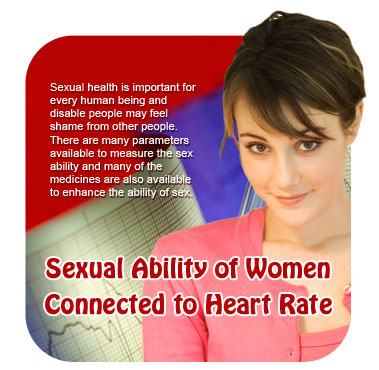 Sexual Ability of Women Connected to Heart Rate